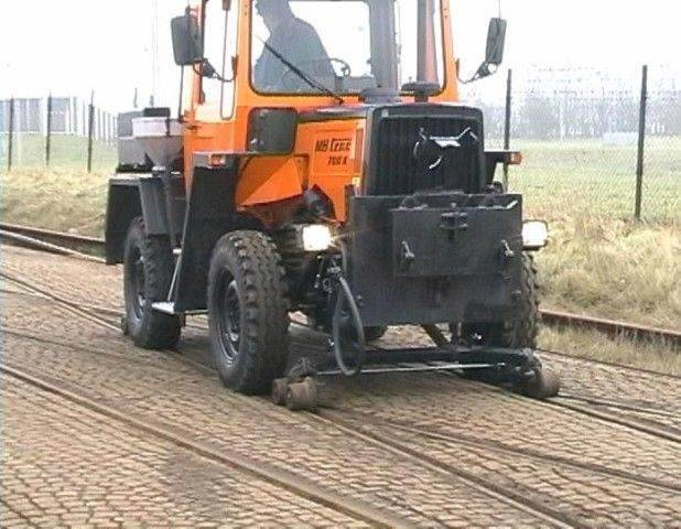 Mercedes-Benz Mb Trac 700 K Road And Rail,unimog,mb Trac - 1987