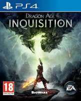 Dragon age inquisition PS4 (less than a month old)
