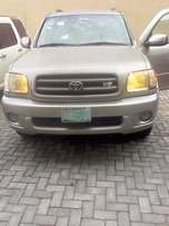 Clean Nigeria used Toyota Sequoia