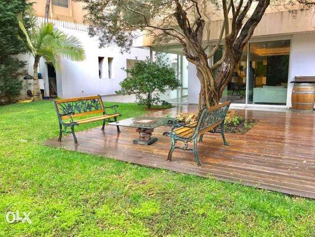 Baabda Brasilia 700+670 SQM (Garden+Pool) - Apartment for SALE