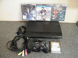 Ps3 with games