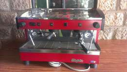 Coffee maker,2group,majister Italy,new,warranty,installation