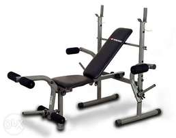 American fitness weight lifting bench with 50kg