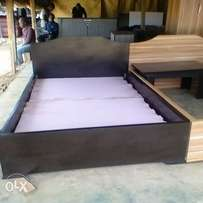 4 by 6 Black MDF Bed Frame N35,000