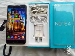 Infinix Note4 with Accessories