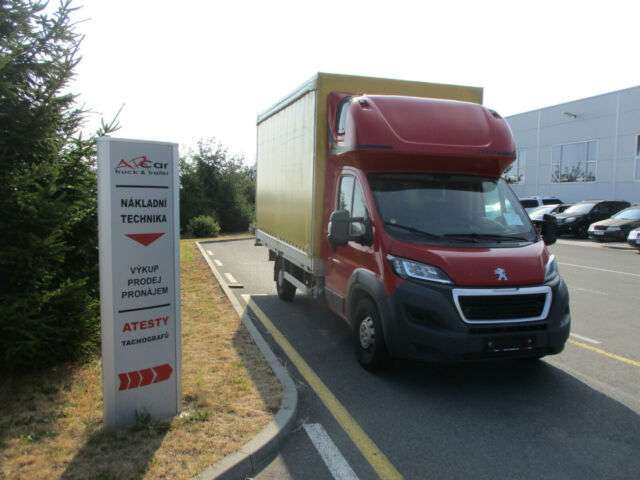Peugeot Boxer 3,0 130kw, Full Servis! 1x Liege. Webasto - 2016