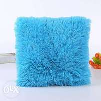 Fluffy Throw Pillow- 18 by 18 inches