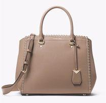 a492bbf96a7eb Torba Michael Kors benning large scalloped leather satchel