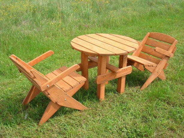 Meble Ogrodowe Składane Stolik Dwa Krzesła Miedźno Olxpl