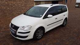7 SEATER 2008 Volkswagen Touran F.S.H Great Buy Rare Find