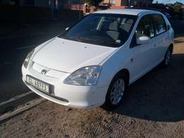 2003 Honda Civic 170i vtec Manual Hatchback.