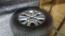 """Ford ranger mags + 17"""" Tyres"""