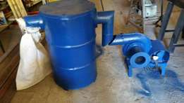 Dust collector system in good condition