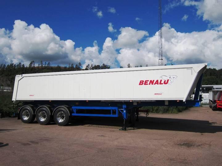 Benalu Tipptrailer Laglig Last 34 Ton, 37 Kbm - 2018
