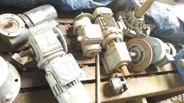 Assorted Reduction Gearboxes.