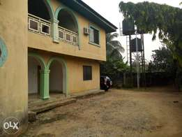 Self contain apartment to let at ikpa Road