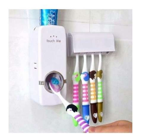 Toothpaste dispenser and toothbrush holder. Yenagoa - image 1