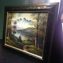 Antique Canvas Oil Painting From Germany World Gallery from 5k to 70k