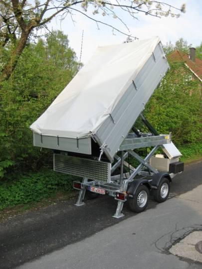 Heimann Abrollanhänger mit Teleskop