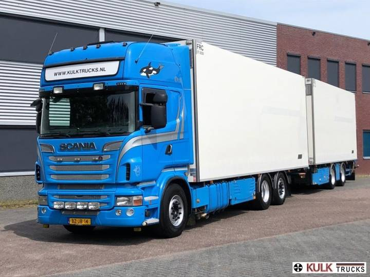 Scania R 500 Manual Retarder FullAir COMBI SHOWROOM CONDITION - 2011