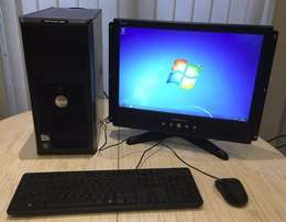 London Used - Complete Desktop Computer with Good Confg.