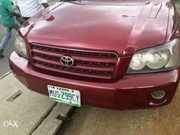 Cheap neat Nigeria registered Toyota Highlander