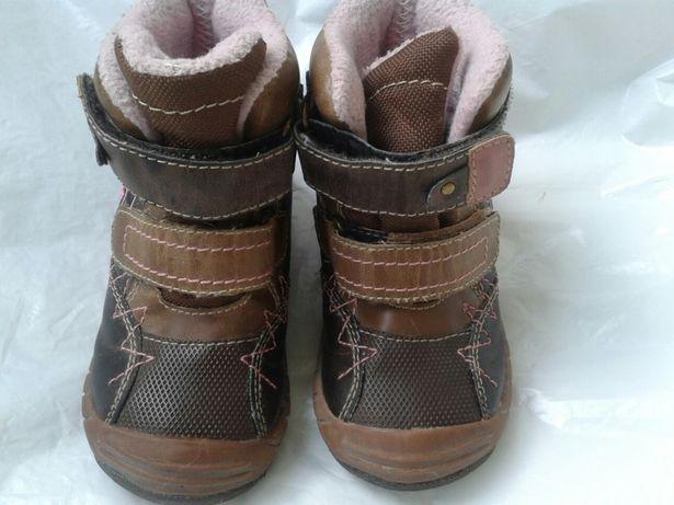Черевики ботинки чобітки сапожки для дівчинки р22 фірмові 1337b54afccf4