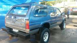 Nissan Sani 3.0 V4 4x4 to swop for Colt Rodeo V6 double cab