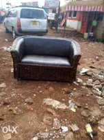 Makuti brand new two seater couch leather fabric on sale