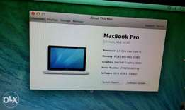 MacBook pro for sale,in good condition.