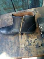 Pure leather shoes,all designs,(Askari boots)