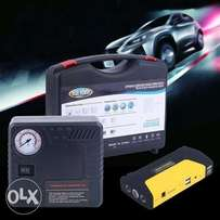 Car Jumpstarter with pressure pump