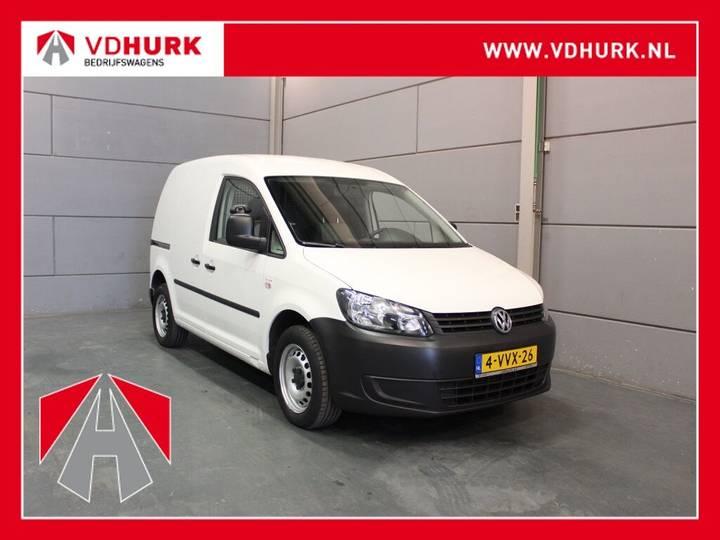 Volkswagen Caddy 2.0 Ecofuel Navigatie/Trekhaak - 2012