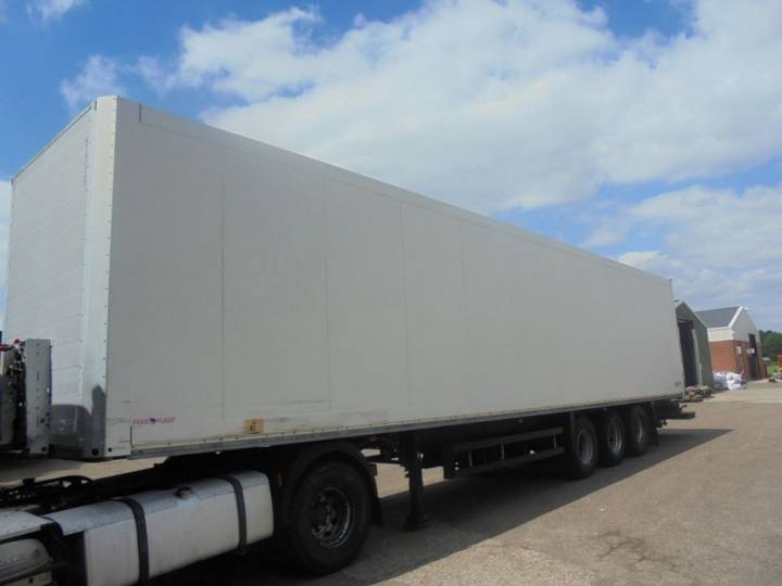 Schmitz Cargobull Laadklep Doppelstock - 2007