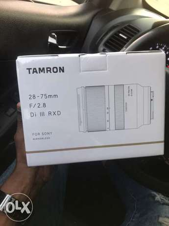 Tamron 28-75mm f2.8 For Sony