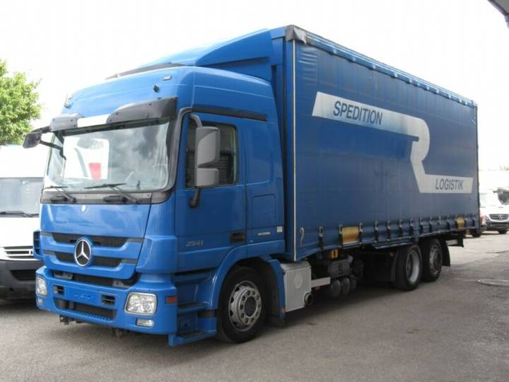 Mercedes-Benz Actros 2541 EEV MEGA Jumbo Klima Retarder AHK - 2011