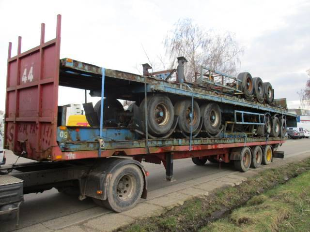 Trouillet Oplegger 30x Flatbed/plateau On Stock Stacking Pos - 1999