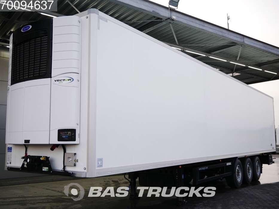 Kogel S24-4 New Unused Carrier Vector 1550 Liftachse SAF 3 axle... - 2019
