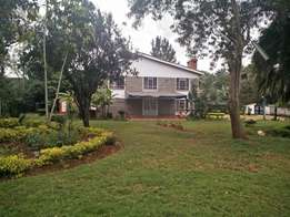 Runda 5 bdrm double storey house:To let