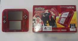 Nintendo 2DS Limited Edition Pokemon Omega Ruby Transparent Red
