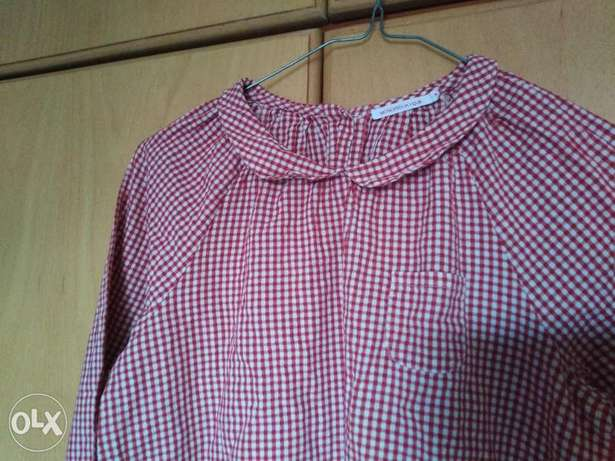 Top red and white for girl for 15 000