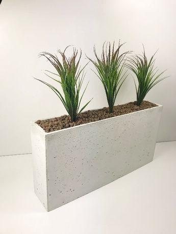 Najnowsze Donica betonowa Slim 90x20x50 Donice betonowe, beton UI11