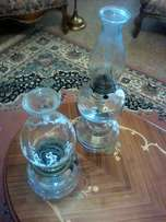 Paraffin glass lamps