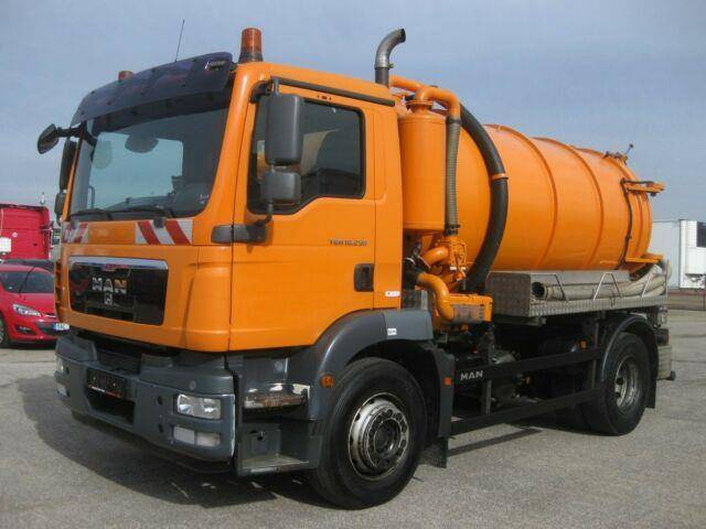 MAN TGM 18.250 Fäkalienwagen 9.400 Liter - 2010