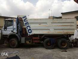 Iveco tipper euro tracker 10 tyres