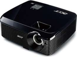 Acer dlp projector with roof mount VGA cable and remote