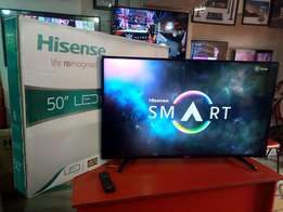 50 inch Brand new boxed, smart, 3D, Ultra 4k HD Hisense LED flat TV