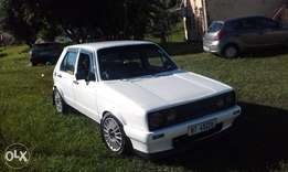 golf 1 1.4 velo motor with carb to swop for jetta or cash sale