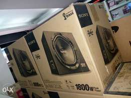 Sony car subwoofer with imported cabinet