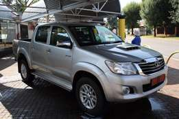2012 Toyota Hilux 3.0 D-4D Raider Raised Body Double Cab,